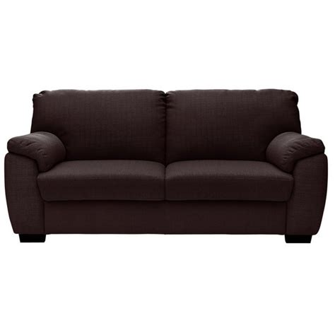 argos 2 seater sofa bed buy collection milano 2 seater fabric sofa bed chocolate