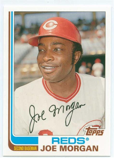 johnny bench birthday most valuable topps baseball cards joe morgan baseball