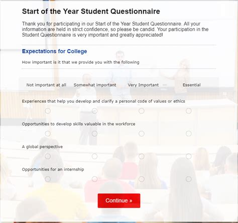 university blog vark questionnaire part 2 template tuesday enhancing education with student