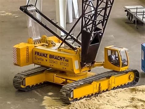 incredible rc crane builds   industrial building