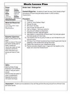 Ktip Lesson Plan Template by Teachers On Elementary