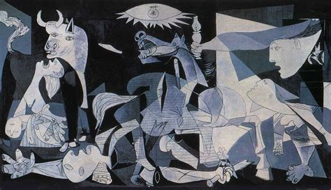 pablo picasso paintings guernica cubism the site of