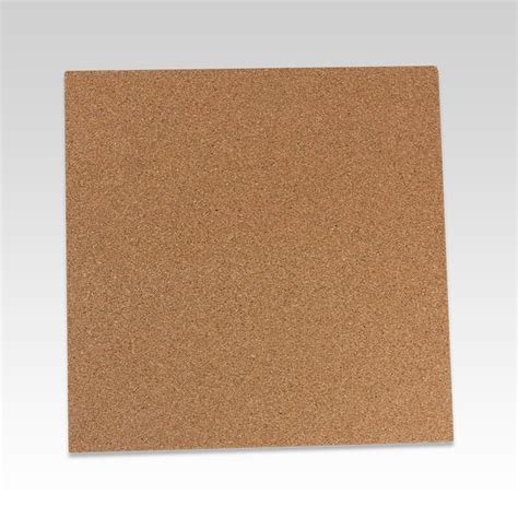"1/8"" Cork Sheets   Tan Cork Board Sheet Squares & Cork"