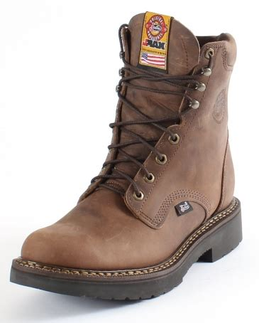mens work boots brands justin 174 s rugged workboots fort brands
