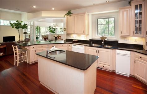 kitchen with wood floors and white cabinets 35 striking white kitchens with wood floors pictures