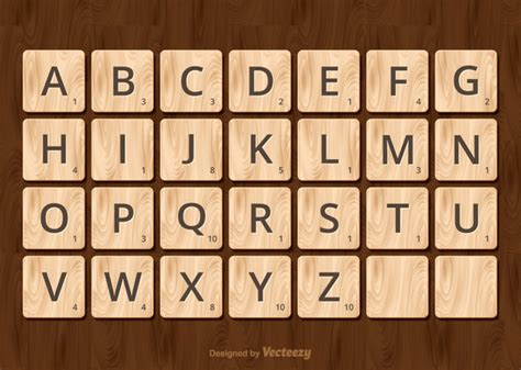 scrabble images free scrabble alphabet vector free vector in ai