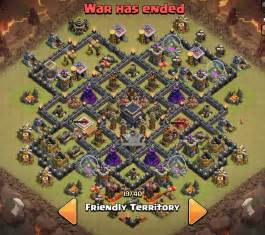 Top 5 Th 9 War Base Designs Coc 4 Mortars 171 Adw Title Ad4 Hacked » Ideas Home Design
