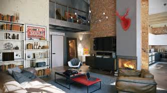 Loft by 3 Stylish Industrial Inspired Loft Interiors