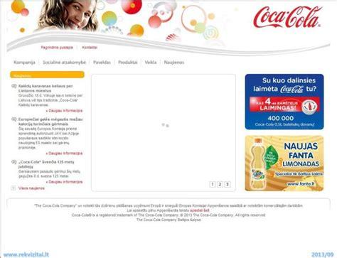 firma coca cola coca cola hbc lietuva uab kontaktdaten rekvizitai lt