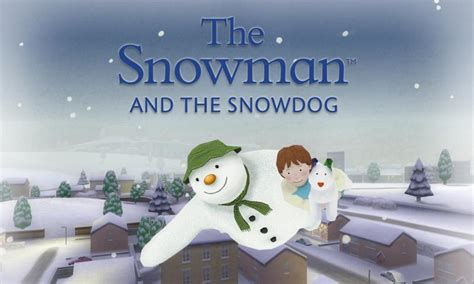 the snowman and the snowdog tv the atkinsonthe atkinson the snowman and the snowdog culturefly