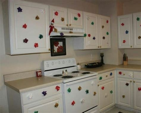 bows on kitchen cabinets put bows all kitchen cabinets
