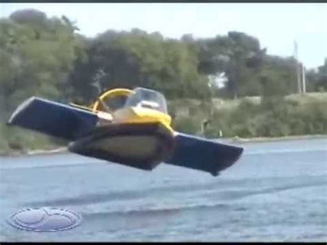 flying boat tube video universal hovercraft uh 18spw hoverwing flying ground