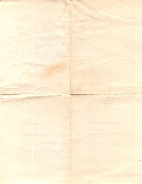 Folded Of Paper - yellowed folded thin paper free texture background