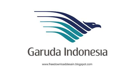 logo garuda indonesia   desain