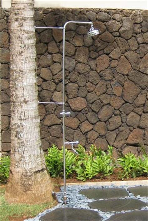 Poo Shower by Outdoor And Pool Showers Made Of High Quality