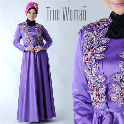 Gamis Muslimah Arimbi Dress By Aqeela Muslim Busana Rachael Edwards