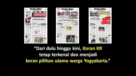Harga Make Jogja koran kedaulatan rakyat pasang iklan koran kr jogja