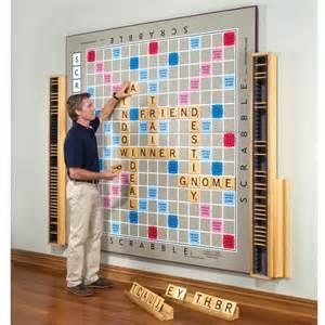 Backyard Scrabble The World S Largest Scrabble Game Hammacher Schlemmer