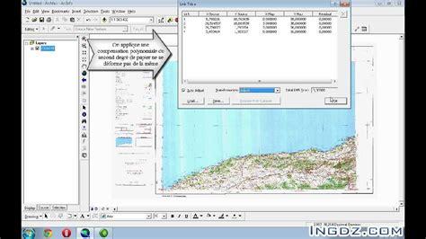 arcgis arcmap tutorial arcgis tutorial g 233 or 233 f 233 rencer une carte scann 233 e avec