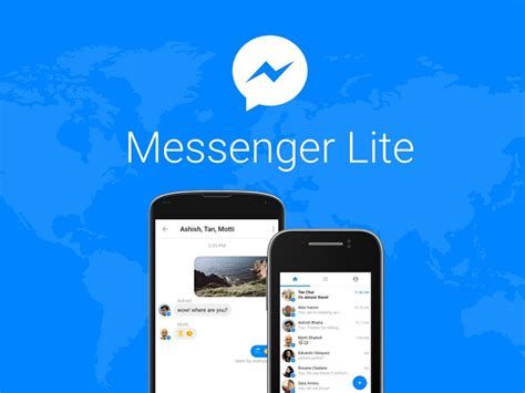 fb lite full version facebook messenger lite for android launched