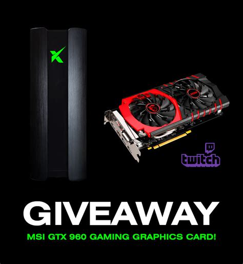 Graphics Card Giveaway - gleam nvidia geforce gtx 960 graphics card giveaway giveaways and contests