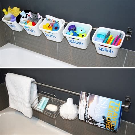 Bathroom Toy Storage Ideas | organizing with style 12 ideas for organizing in the