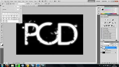 tutorial photoshop cs4 text effect indonesia how to make glowing neon text in photoshop cs4 or cs5