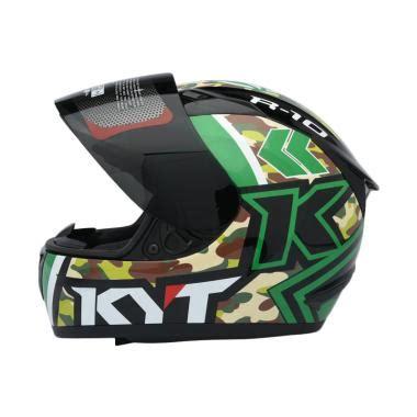 Helm Kyt K2 Rider Hitam Doff helm kyt r10 terbaru di kategori helm blibli