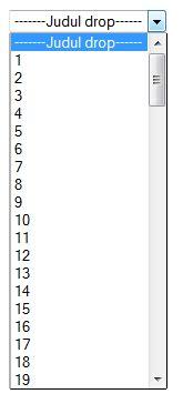 membuat select option html cara membuat menu drop down select dengan php tableck
