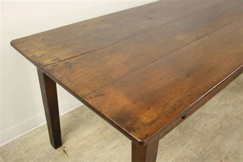 Dining Table With Drawer Antique Two Drawer Cherry Dining Table At 1stdibs