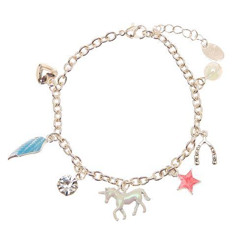charm bracelet unicorn charm bracelet s us