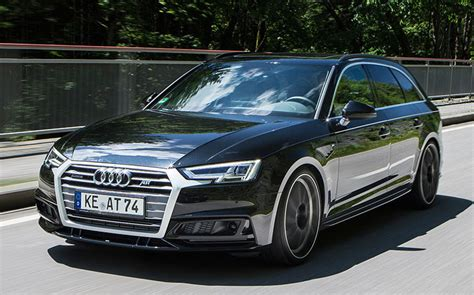 Audi A4 Abt Tuning by Abt Audi A4 Avant Upgrade Package