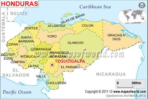 area code from us to honduras map of santa barbara