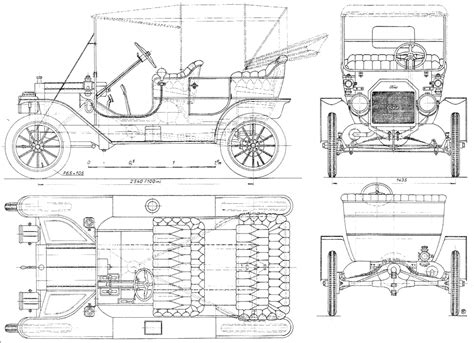 car plans ford model t blueprint download free blueprint for 3d