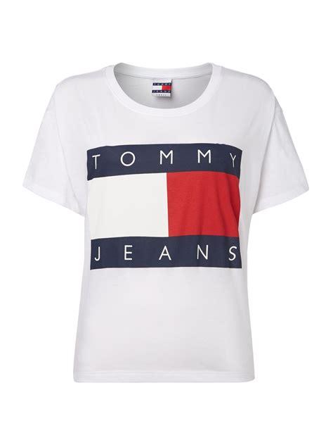 Hilfiger Logo T Shirt by Hilfiger Kleider Hilfiger Denim T Shirt Mit Logo