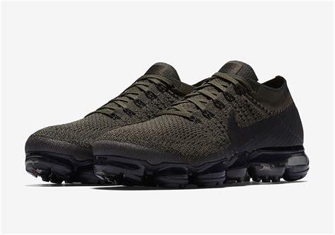 Nike Air Vapormax Flyknit Khaki nike vapormax quot cargo khaki quot releases on july 7th