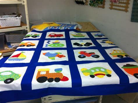 Transportation Quilt Pattern by Applique Quilt Transportation Big Boy Room