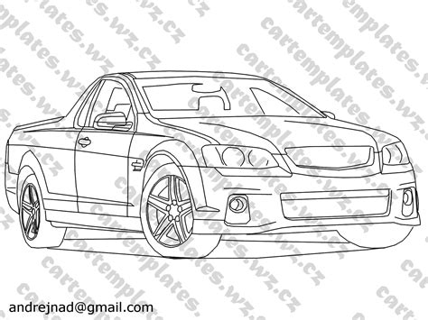 coloring pictures of holden cars holden utes colouring pages