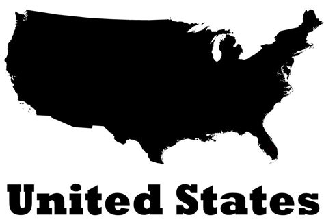 map usa vinyl united states of america vinyl wall decal country map