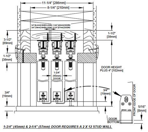 Sliding Door Detail by Johnson Hardware 174 Multi Pass Sliding Door Hardware