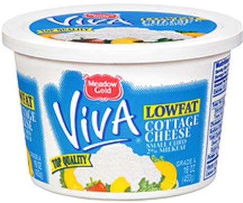 Meadow Gold Curd Cottage Cheese by Meadow Gold Cottage Cheese Lowfat Small Curd 16 0 Oz