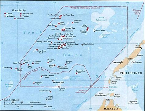 spratly islands map detailed map of spratly islands spratly islands detailed map vidiani maps of all