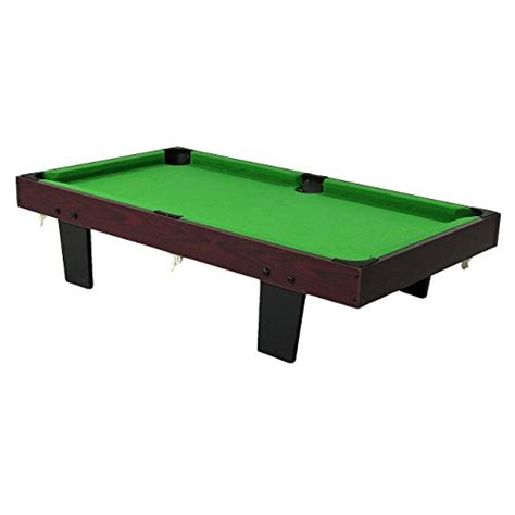 sunnydaze 36 inch tabletop pool table sporting goods