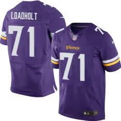 vikings colors phil loadholt minnesota vikings s elite purple team