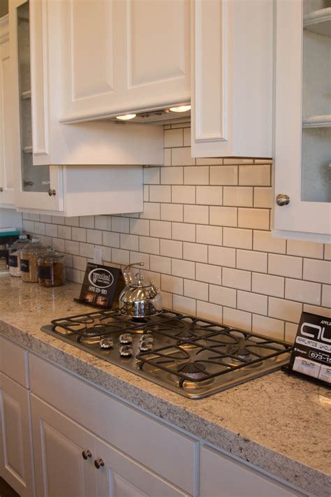 grout kitchen backsplash white subway tile backsplash with gray grout
