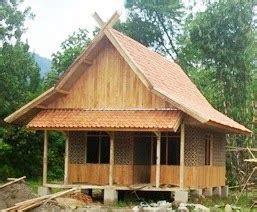 rumah adat suku sunda struktur rumah idaman