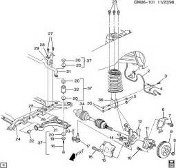 Buick Parts Diagrams Buick Lesabre Suspension Front