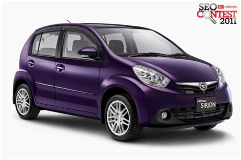 new daihatsu sirion indonesia new daihatsu sirion mobil keluarga terbaik di indonesia