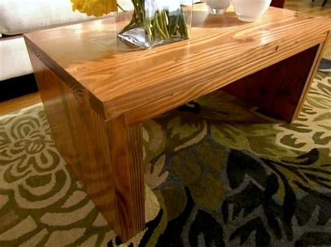 build  coffee table hgtv