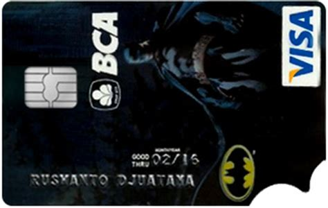 bca visa platinum bca silver card fees